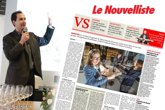Emmanuel - Nouvelliste - 27.10.2014