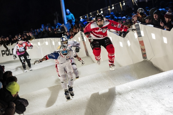 Pacome Schmitt (FRA), Toni Heikkilae (FIN), Luke Halvorson (USA), Mitchell Tiesberg (USA) - Action